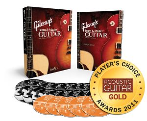 Gibson's learn and master guitar box set