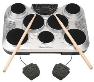 digital tabletop drum set