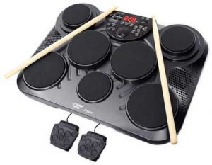 electronic tabletop drum kit