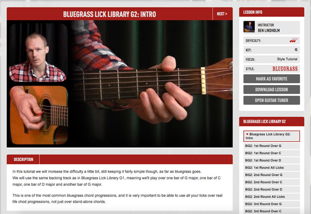 bluegrass guitar lessons