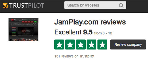 Jamplay reviews on Trust Pilot
