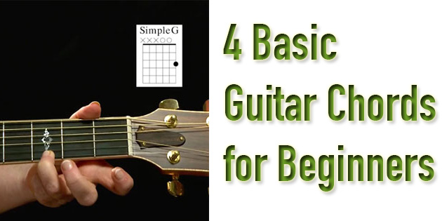 4 Simple Chords Every Beginner Guitar Player Needs to Know