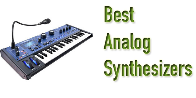 best analog synthesizers
