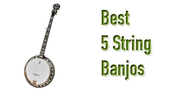 best 5 string banjos