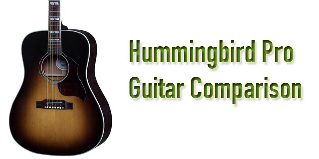 Epiphone vs  Gibson Acoustic Guitars - Hummingbird Pro