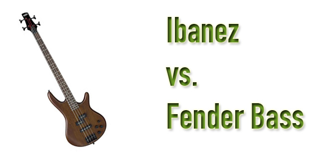 Ibanez vs Fender Bass