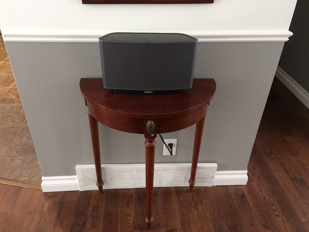 SONOS on hall table