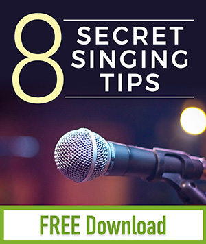 8 secret singing tips sidebar opt in