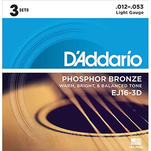 D Addario guitar strings