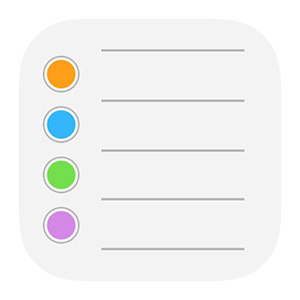 iphone icon for setting reminders