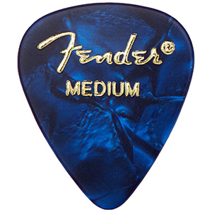 Fender moto style guitar picks