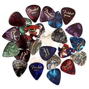 Fender premium picks