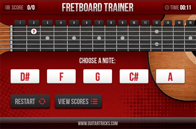 fretboard trainer