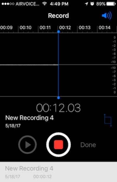 iphone recording app