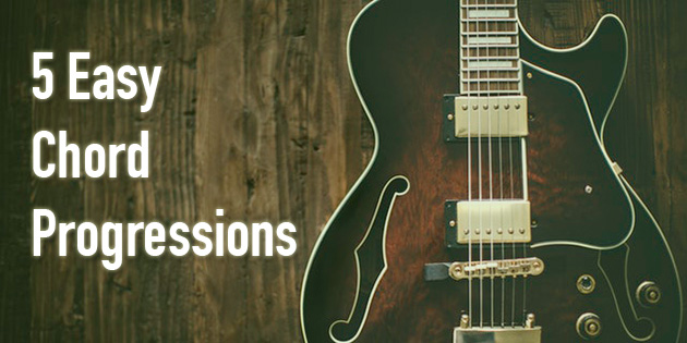5 Chord Progressions Every Beginner Songwriter Must Know