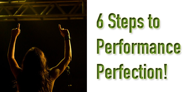 6 steps to performance perfection banner