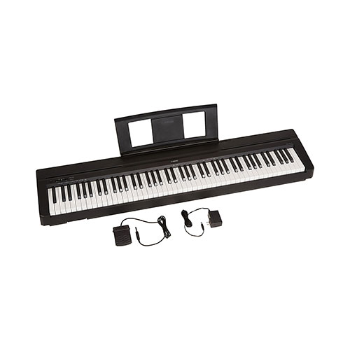 Yamaha P71 digital piano Best Digital Pianos for Small Spaces and Apartments