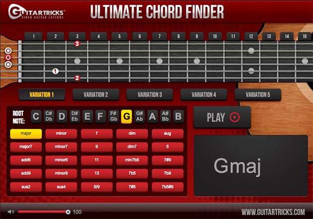 chord finder diagram