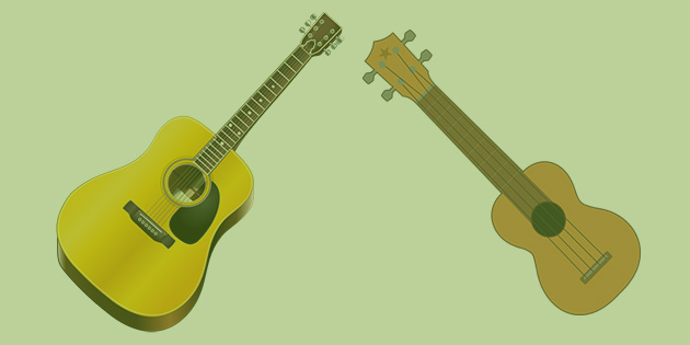 guitars vs ukuleles