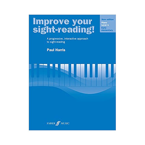 Improve Your Sight Reading Book by Paul Harris