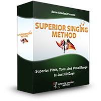 Superior Singing Method product box