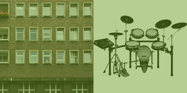 electronic drum sets for apartments
