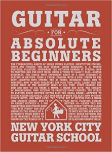 Guitar for Absolute Beginners book cover