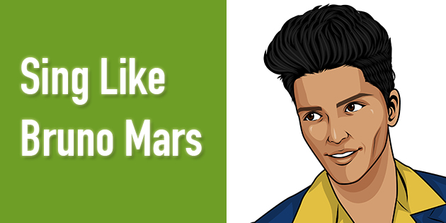 how to sing like bruno mars