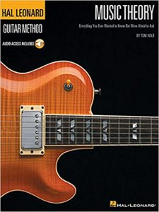Guitar Theory by Hal Leonard book cover