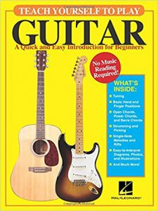 Teach Yourself To Play Guitar book cover