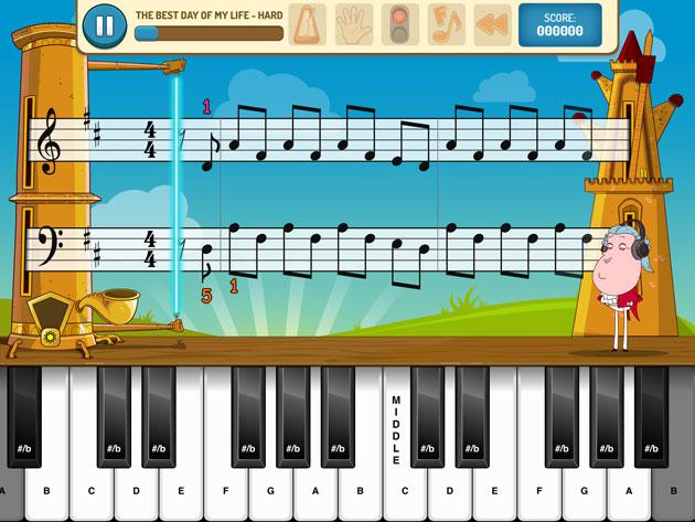 piano maestro interface