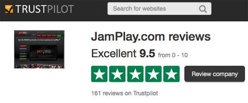 Jamplay reviews on Trust Pilot