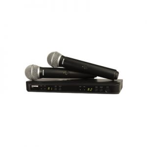 Shure BLX288 PG58 H9 Wireless Mic