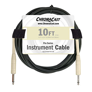ChromaCast guitar cables