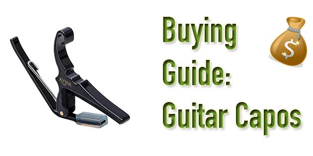 Guitar capo buying guide