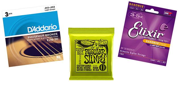 the 3 best guitar string brands. Black Bedroom Furniture Sets. Home Design Ideas