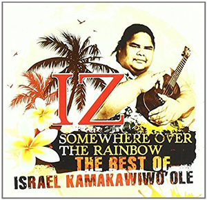 IZ somewhere over the rainbow album cover
