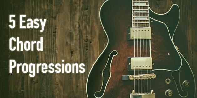 5 easy chord progressions