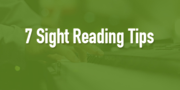 7 sight reading tips for piano players