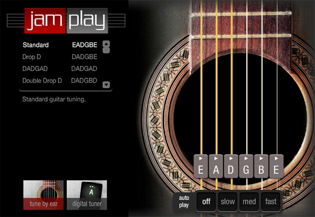 guitar tuner at JamPlay