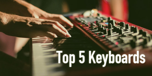 top 5 piano keyboards