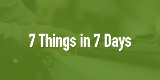 7 things in 7 days for improving on piano