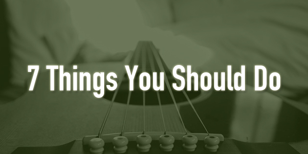 7 things girl guitar players should do