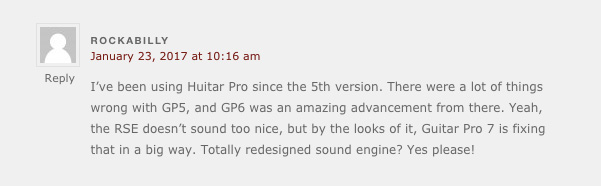 user review of guitar pro 7