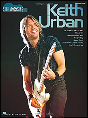 Keith Urban's Strum and Sing Book Cover
