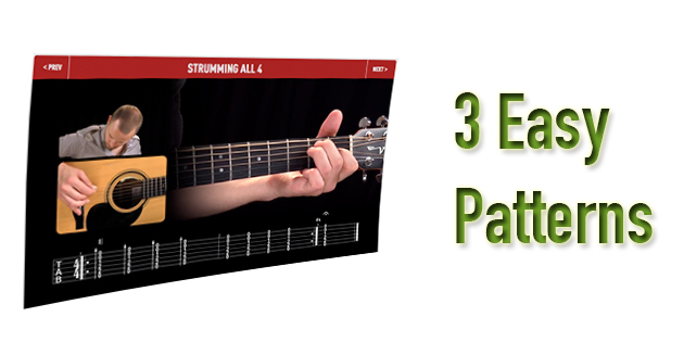 guitar strumming patterns for beginners