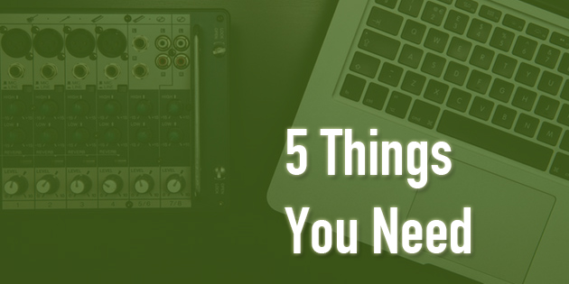 5 things you need to make your own beats