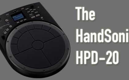 the HandSonic HPD-20 review