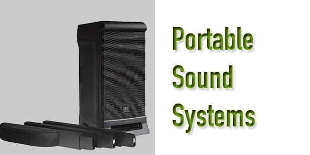Best Portable Sound System for Events - Battery Powered and