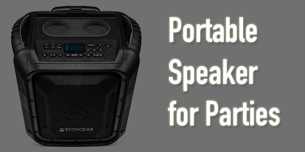 portable speakers for parties
